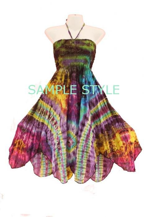 NEW BOHO Fairy Tie Dye Sun SEXY Dress SZ S M 8 10 12 | eBay